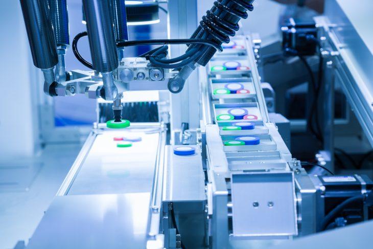 Visión artificial industrial