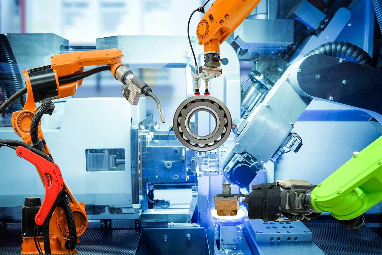Robot industrial desarrollado por Electrónica Edimar