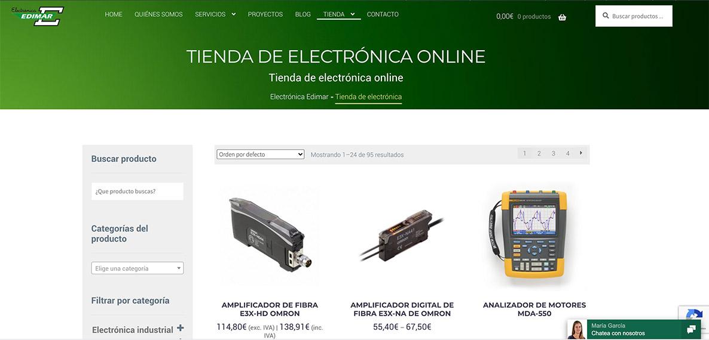 tienda de componentes electrónicos en Asturias