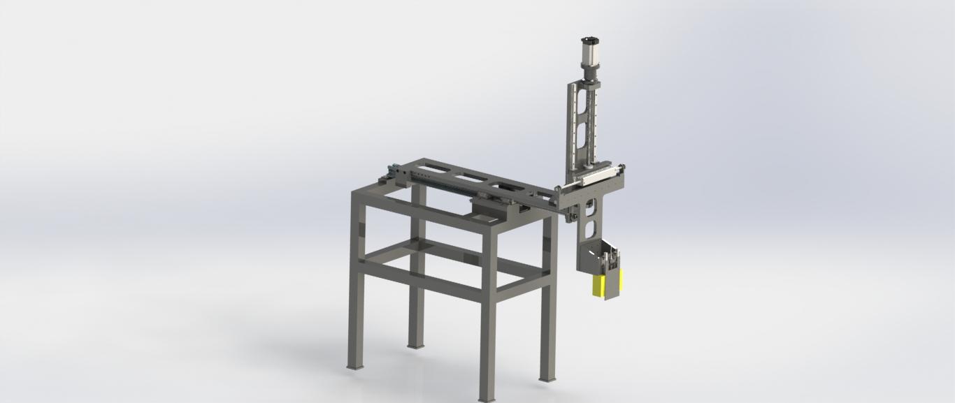 Descargador para horno de revenido diseñado por Edimar