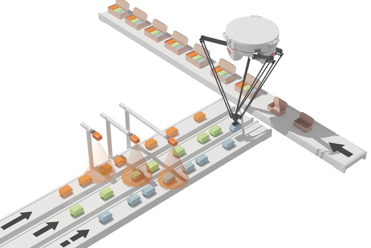 Máquina de Pick and Place en industria